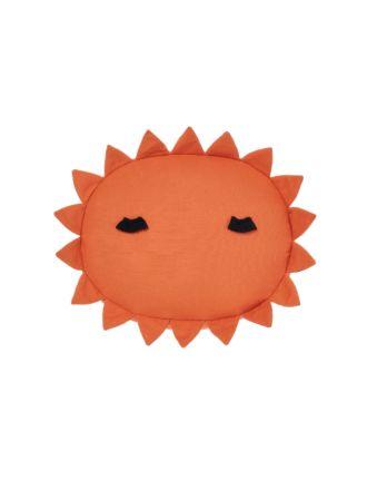Happy Sun Apricot Novelty Cushion