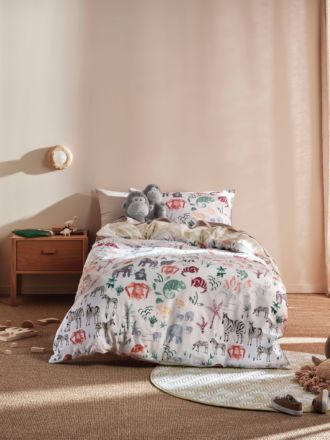I Spy Something Wild Quilt Cover Set