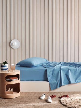Lollipop Blue Sky 225TC Cotton Sheet Set