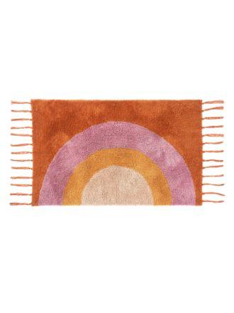 Over The Rainbow Apricot Floor Rug