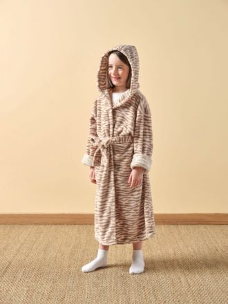 Plush Kids Tiger Robe