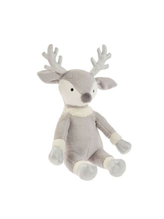 Prancing Reindeer Novelty Cushion