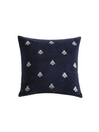 Buzz Navy Cushion 50x50cm