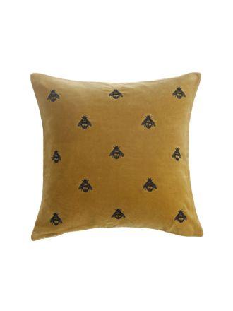 Buzz Mustard Cushion 50x50cm