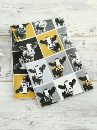 Moo Tea Towel