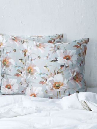 Poppy European Pillowcase