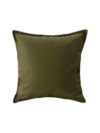 Stitch Olive European Pillowcase
