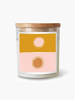 Natalie Jade Two Suns-Himalayas Soy Candle 600g
