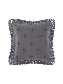 Adalyn Charcoal European Pillowcase