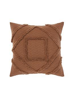 Adalyn Pecan Cushion 50x50cm