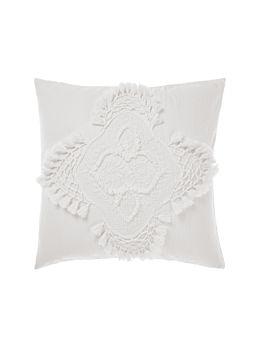 Alli White European Pillowcase