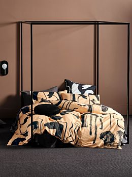 Arden Taupe Quilt Cover Set