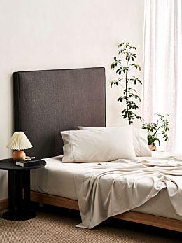 Aria Sand Bamboo Cotton 600TC Sheet Set
