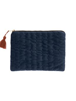 Cara Navy Pouch