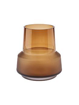 Draper Amber Vase 18cm