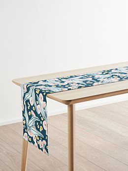 Evie Teal Table Runner