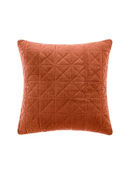 Heath Rust European Pillowcase