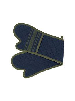 Karis Navy Double Oven Glove