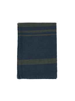 Karis Navy Tea Towel