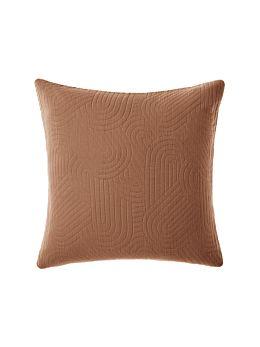 Lila Pecan European Pillowcase