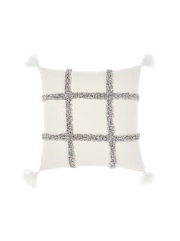 Lyndon Charcoal Cushion 48x48cm