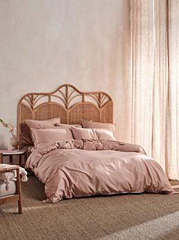 Nara Bamboo Cotton Clay Quilt Cover Set