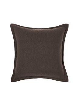 Nimes Espresso Linen Tailored Cushion 48x48cm
