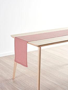 Nimes Rosette Linen Table Runner
