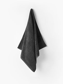 Reed Charcoal Towel Collection