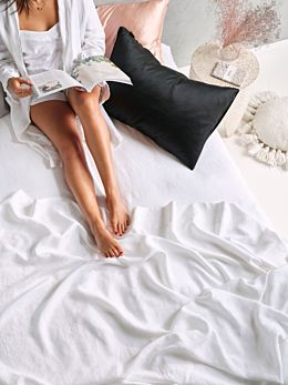 Silk Black Pillowcase