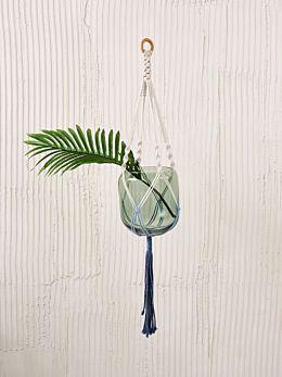 Sweetwater Blue Pot Plant Hanger 90cm