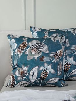Lark Teal European Pillowcase
