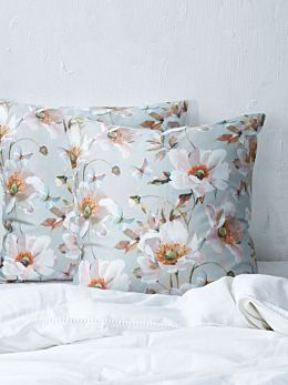 Poppy European Pillowcase