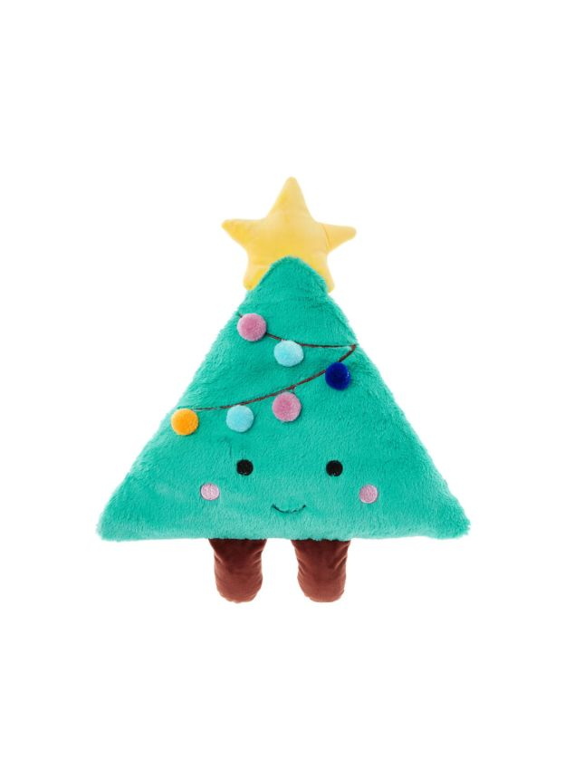Christmas Tree.Christy Christmas Tree Novelty Cushion