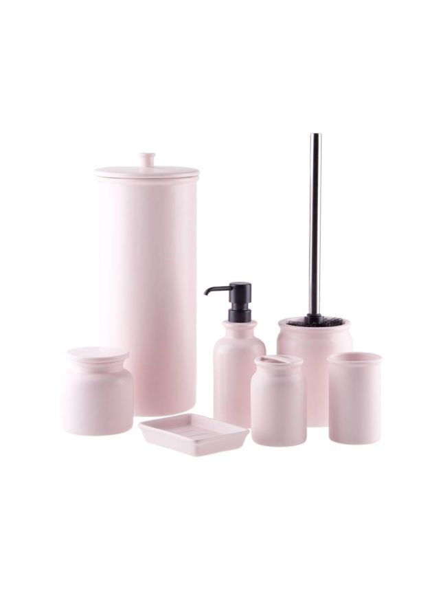 Marino Soft Pink Bathroom Collection   Bathroom Collections   Bathroom  Accessories   Bathroom