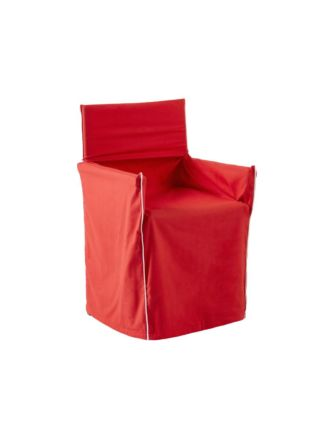 Alfie Red Directors Chair Cover