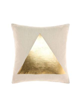Apex Gold Cushion 50x50cm