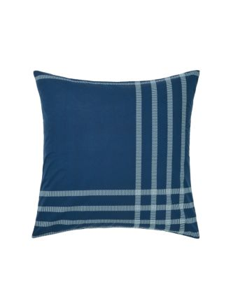 Cason Navy European Pillowcase