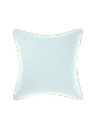 Cora Aqua European Pillowcase