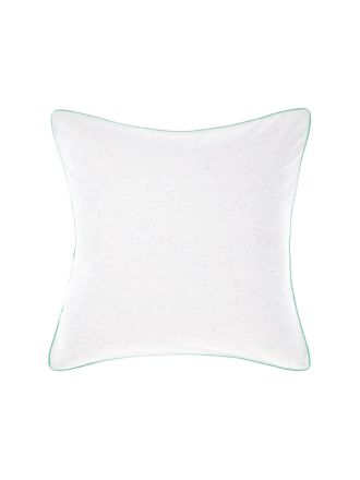 Cora White European Pillowcase