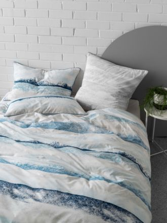 Terrain Blue Quilt Cover Set