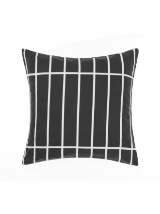Vasco Black European Pillowcase