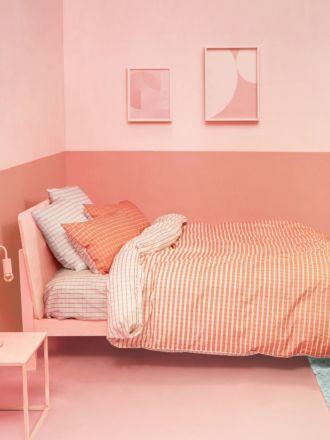 Jek Coral Quilt Cover Set