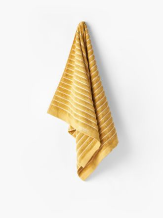 Seville Mustard Towel Collection