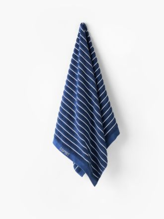 Seville Navy Towel Collection