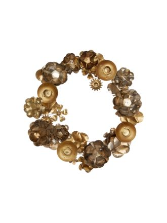 Candle Holder Wreath