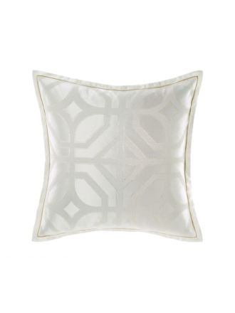 Treillage Silver European Pillowcase