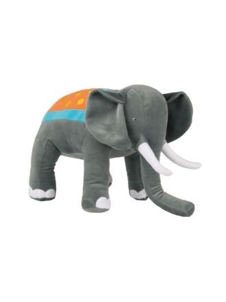Elliot Elephant Novelty Cushion