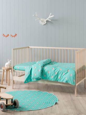 Foxy Cot Quilt Cover