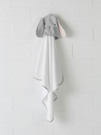 Hippity Hop Hooded Bath Towel